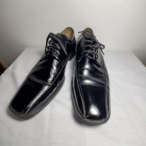 Stacy Adams black dress shoes / Oxfords size 9